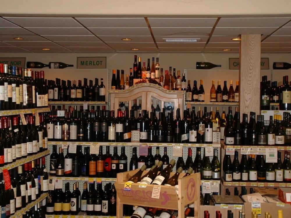Wine room sample