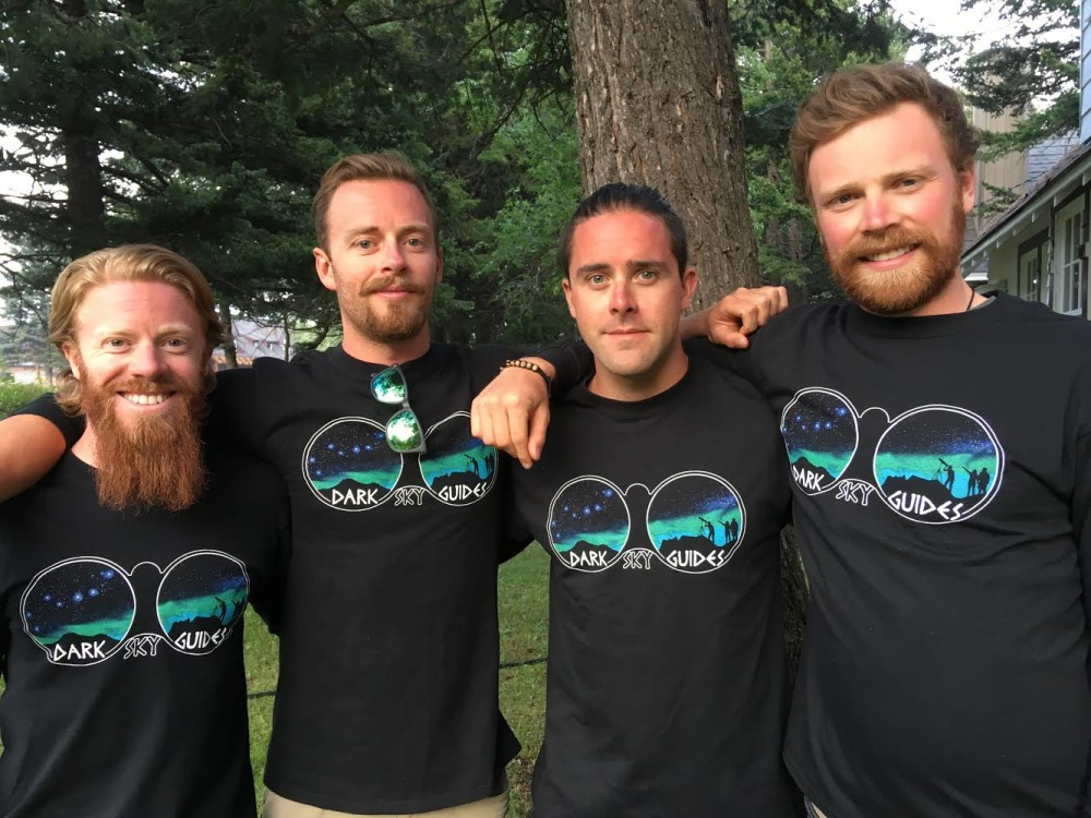 The four Robinson brothers are the Dark Sky Guides