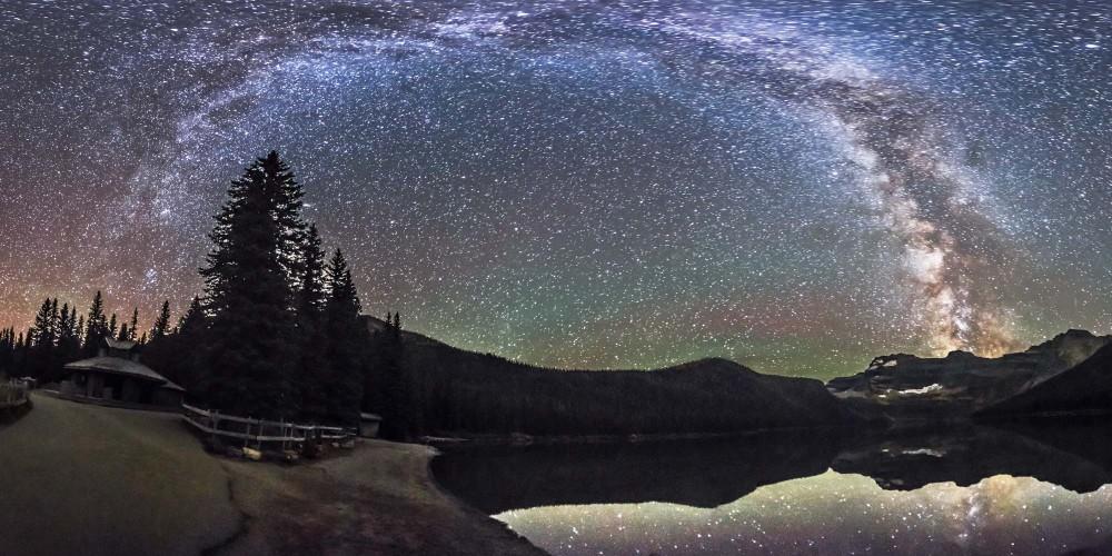 Milky Way at Cameron Lake