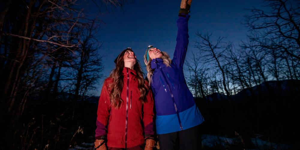 Keep Your Eyes on the Skies! - Photo courtesy Travel Alberta / John Price