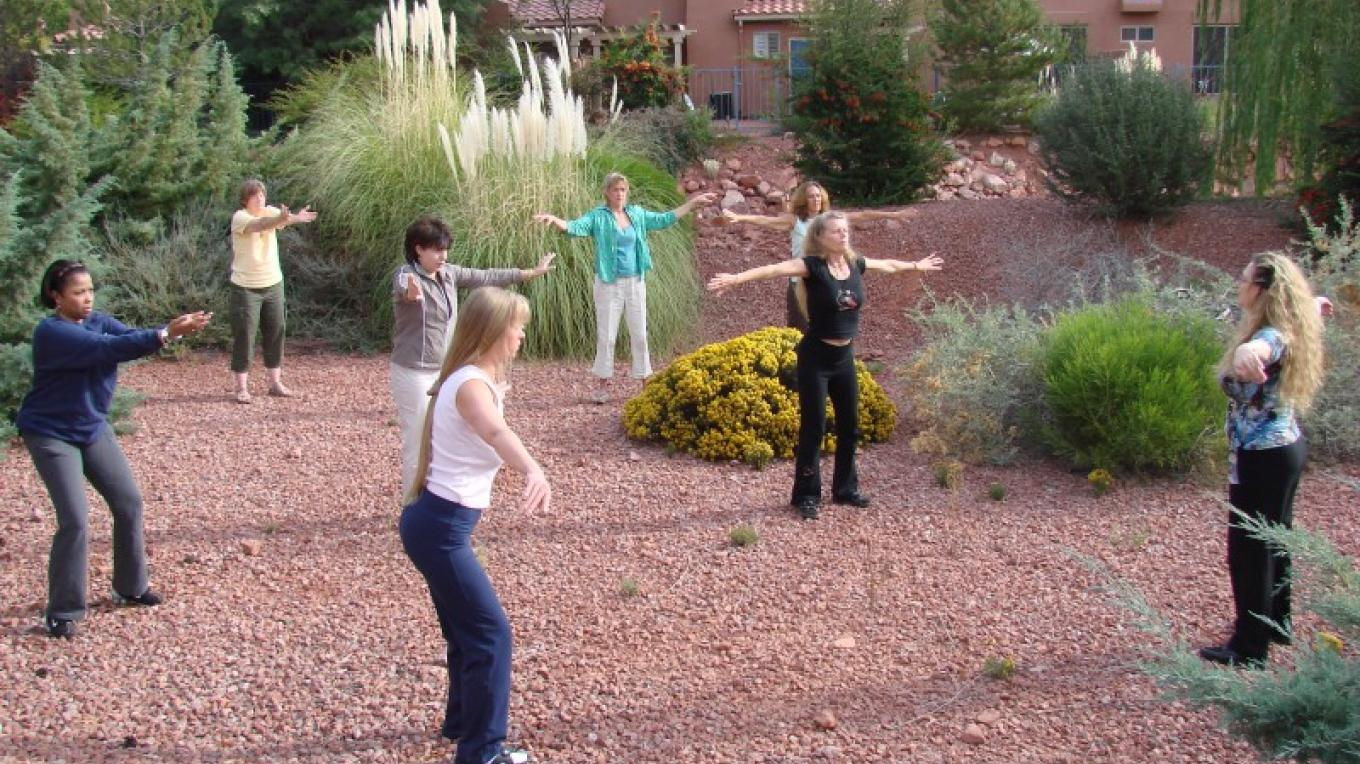 Workshop Qi Gong exercise