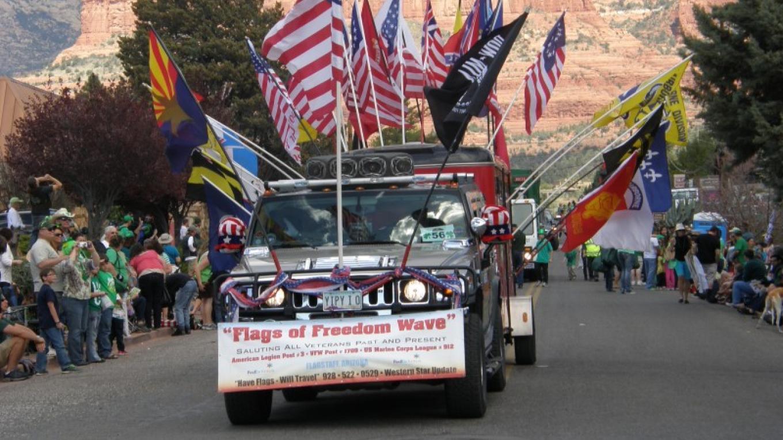 Stirring Color Guard Tribute – Sedona Main Street Program