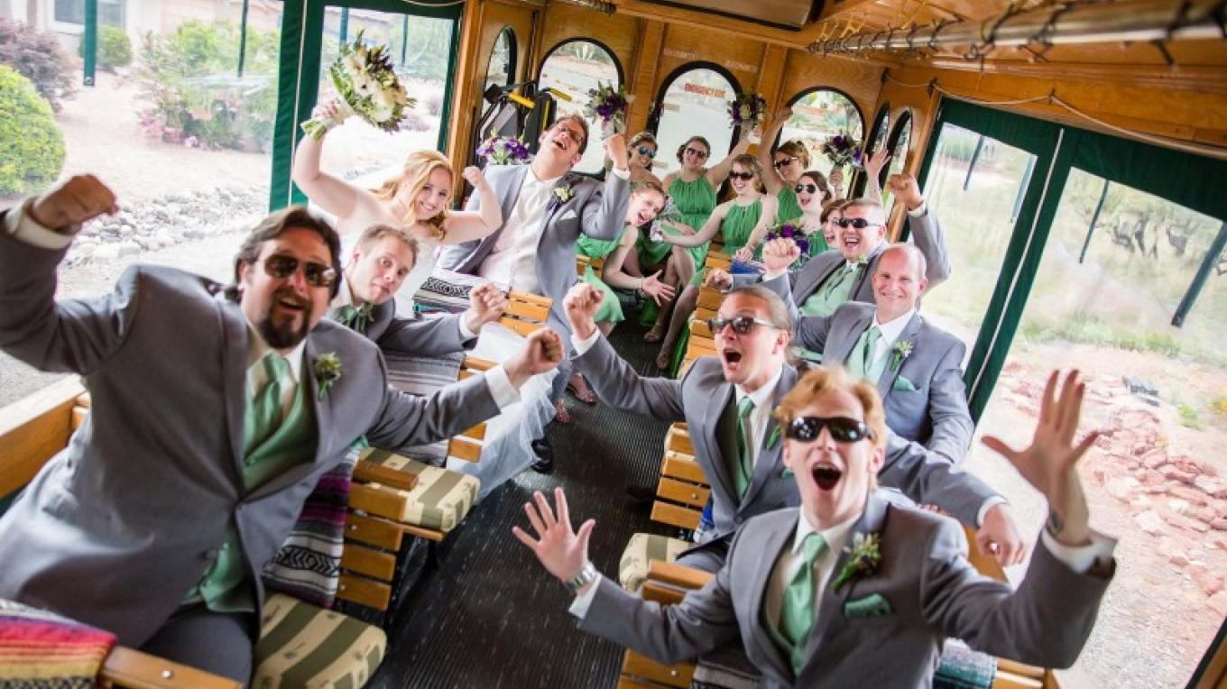 Red Rock Magic Trolley can hold 30 guest each. Handicap accessible upon request.