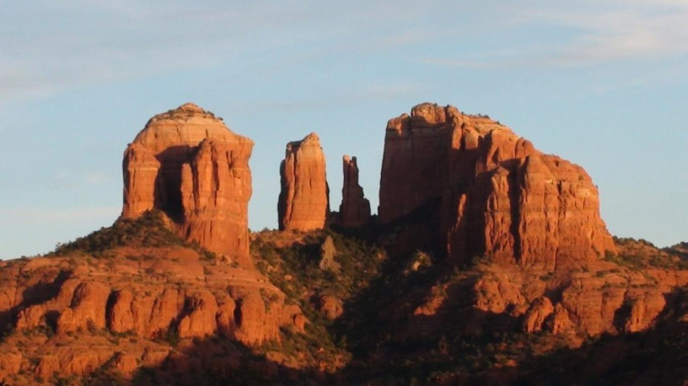 Cathedral Rock, our most photographed rock formation. – Jim Reich