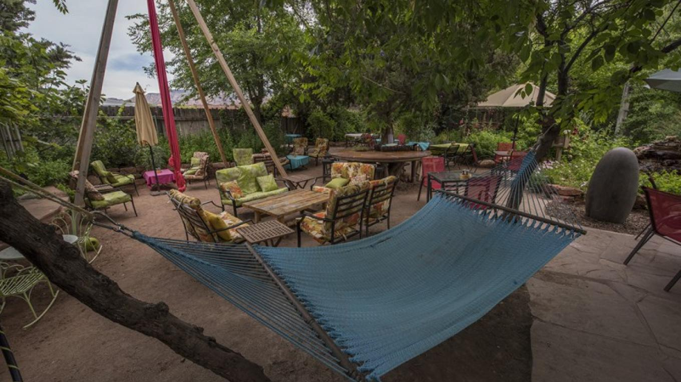 Lounge Seating and Hammock
