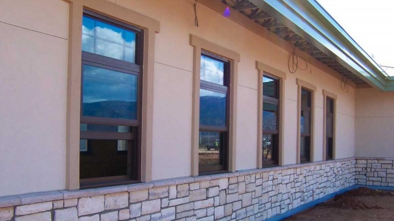 Ample windows provide natural day lighting to office areas. – USDA Forest Service