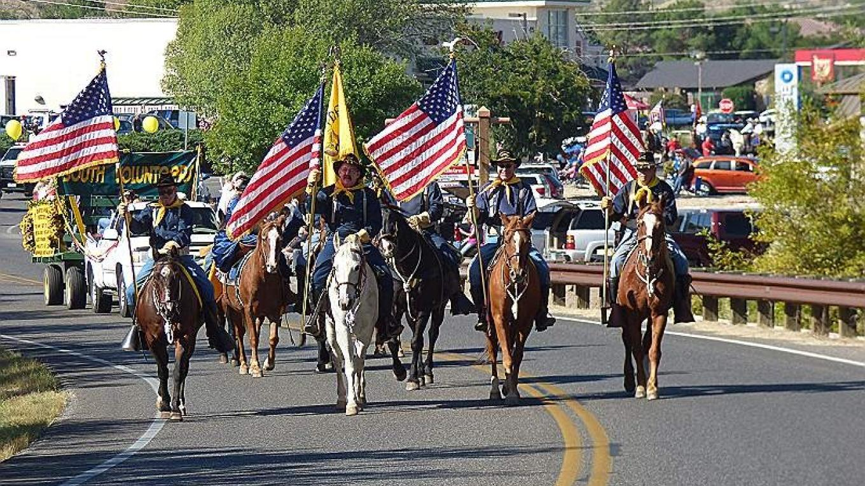 Cavalry Leading the Parade – T. B. Thorson
