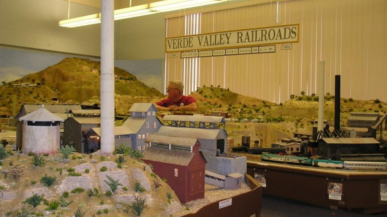Miniature Verde Valley train room – Museum Files