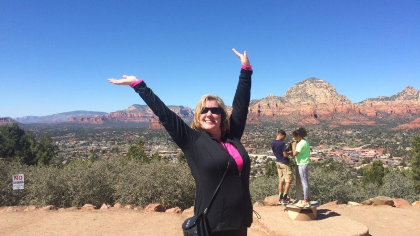It hard to contain the level of joy and exuberance while visiting Sedona. – Jim Reich