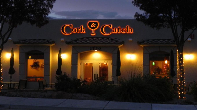 Cork & Catch dinner time