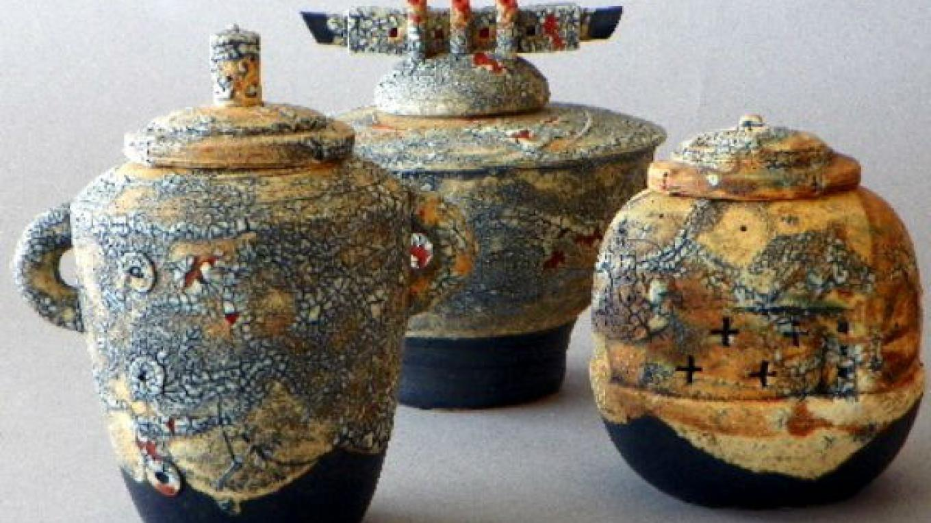 Ceramics by Greg Riley – photo by Greg Riley