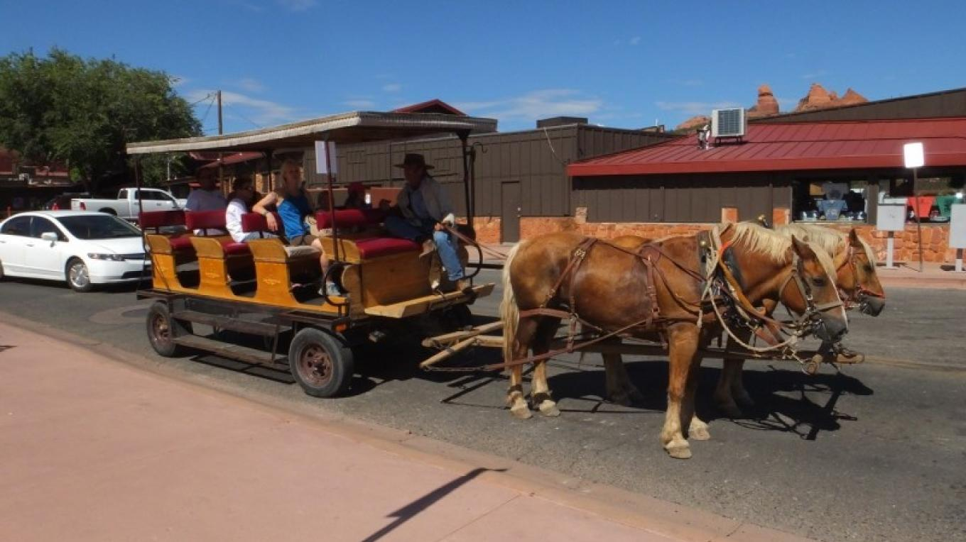 horse-drawn wagon rides – Al Comello