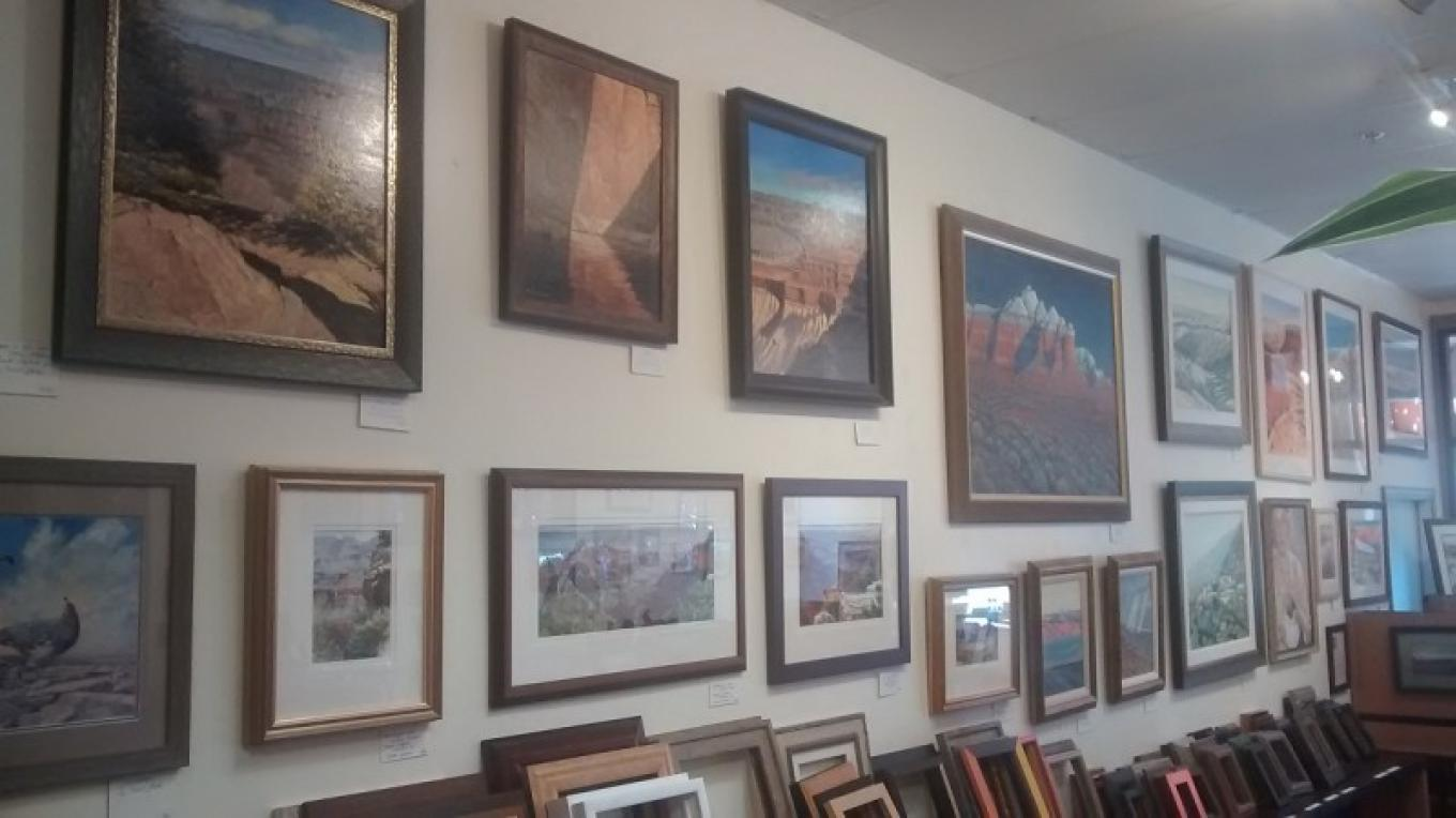 Wall of Fine Local Art – Trevor Gottschalk