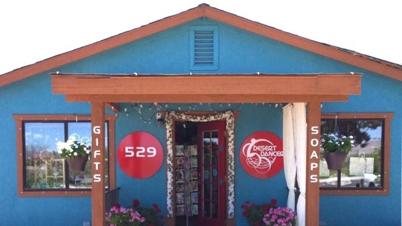 1930s cottage recycled into a small retail shop that makes soaps and lotions. – Isolde Dryer