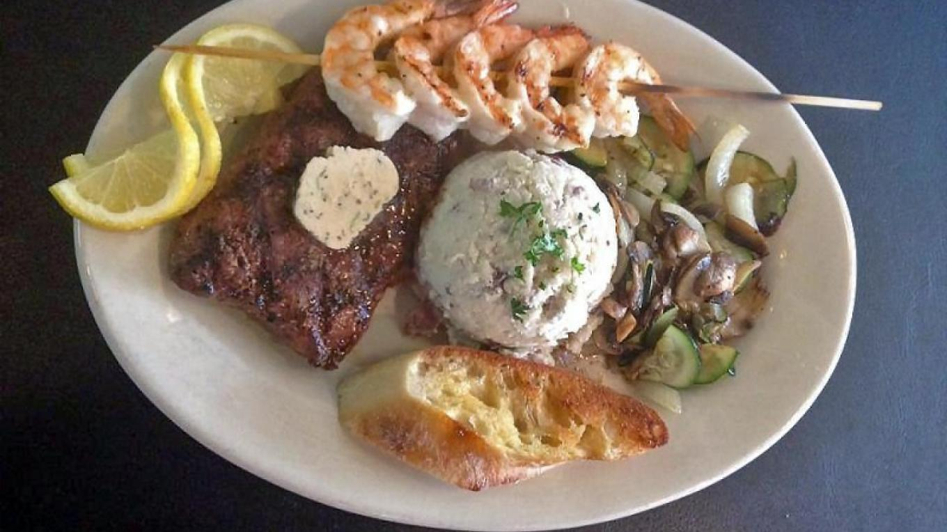 Surf and Turf – Boat House Bar and Grill