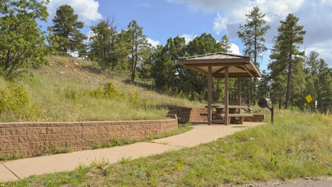 An accessible picnic site at Summit Picnic Area. – USDA Forest Service