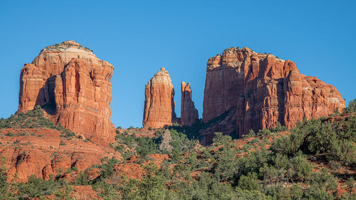 Cathedral Rock monument