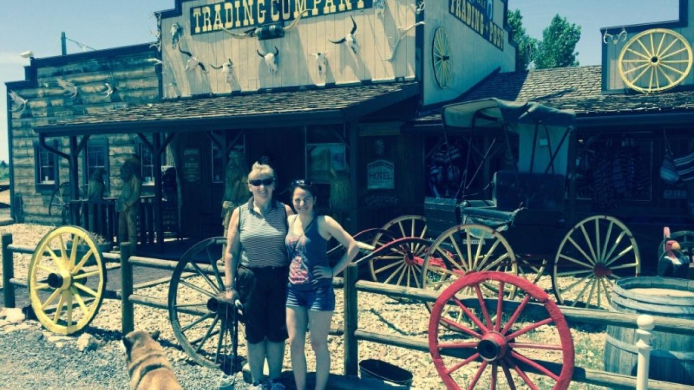 One of our stops on the way to the Grand Canyon. – Jim Reich