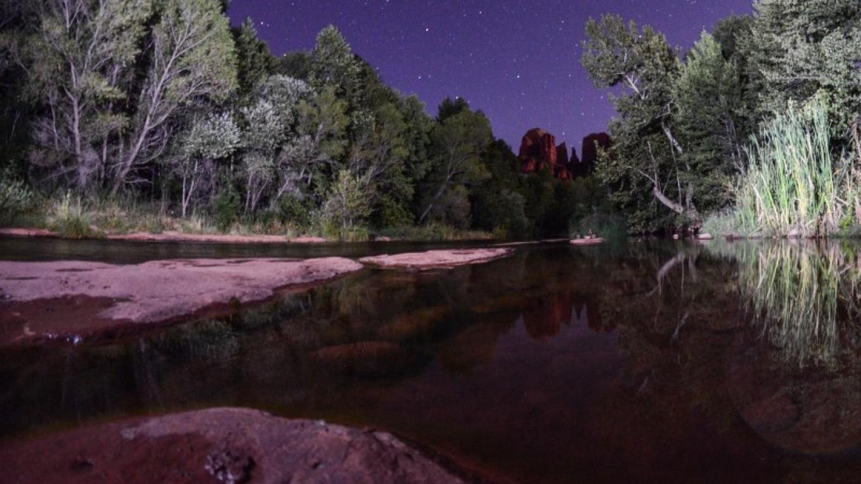 Crescent Moon recreation area at night – Dalton Zanetti