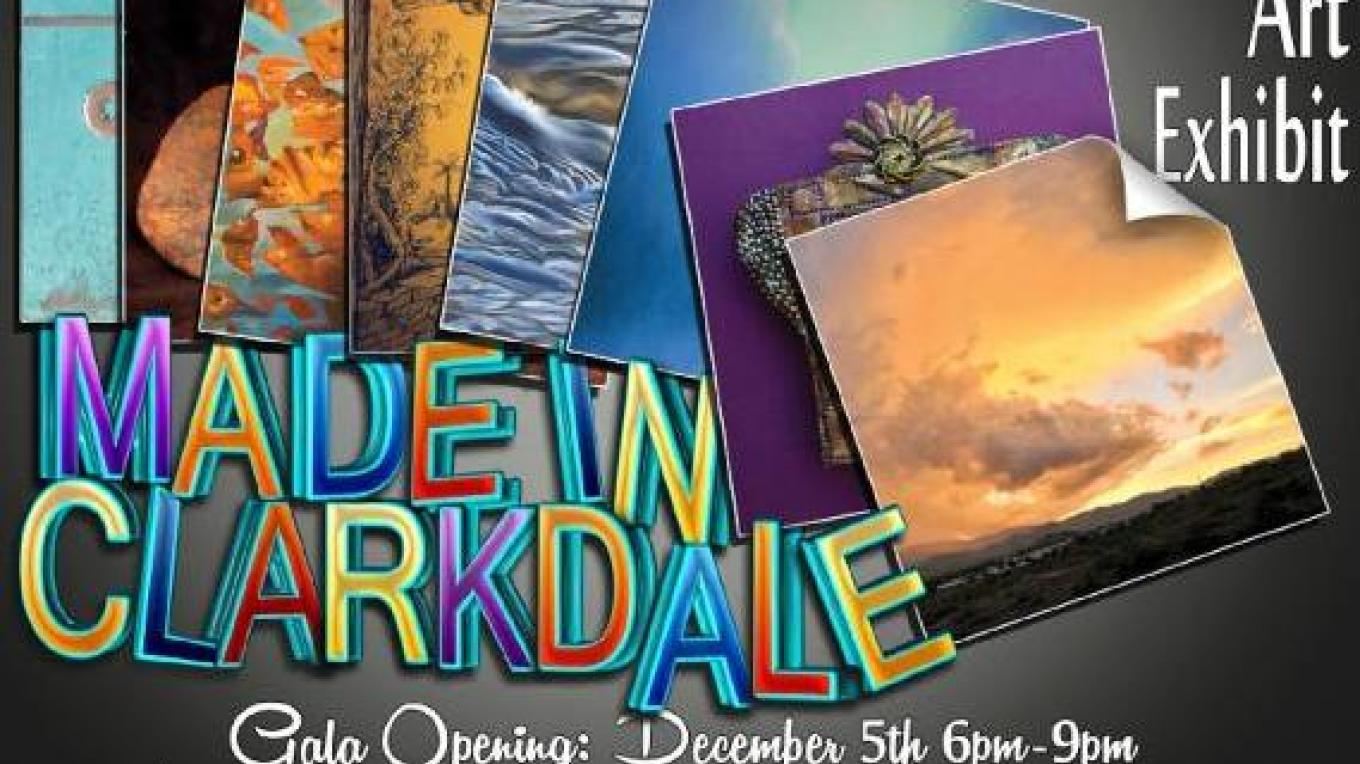 Made In Clarkdale Art Show 2014 Brochure Cover