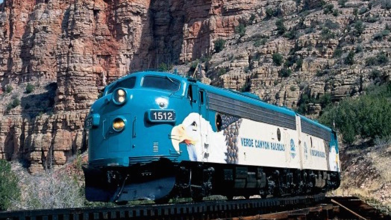 Crossing SOB Trestle – Verde Canyon Railroad