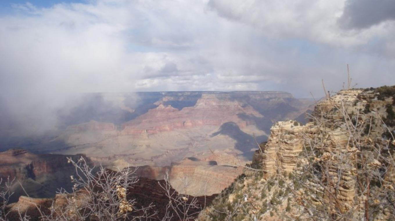 The views at the Grand Canyon are never short of exceptional. – Jim Reich