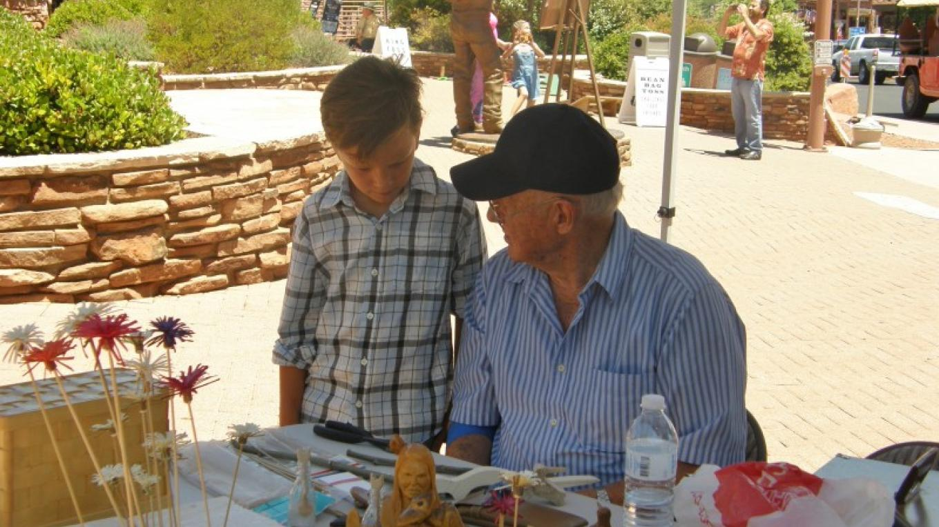 Olde Time Whittlers of Verde Valley – Sedona Main Street Program