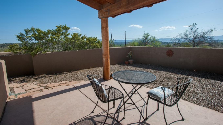 Patio and courtyard. – Nina Hubbard