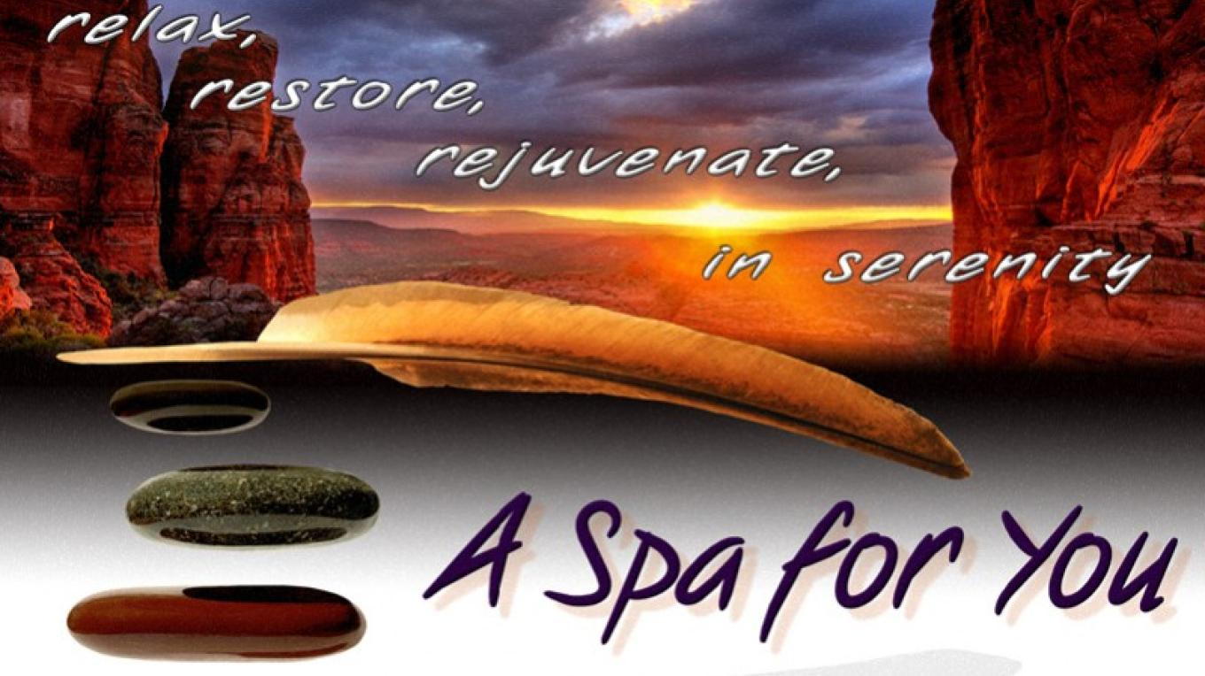 Relax, Restore, Rejuvenate in Serenity at A Spa for You Sedona Day Spa (Cathedral Rock Sunset Outlook) – A Spa for You