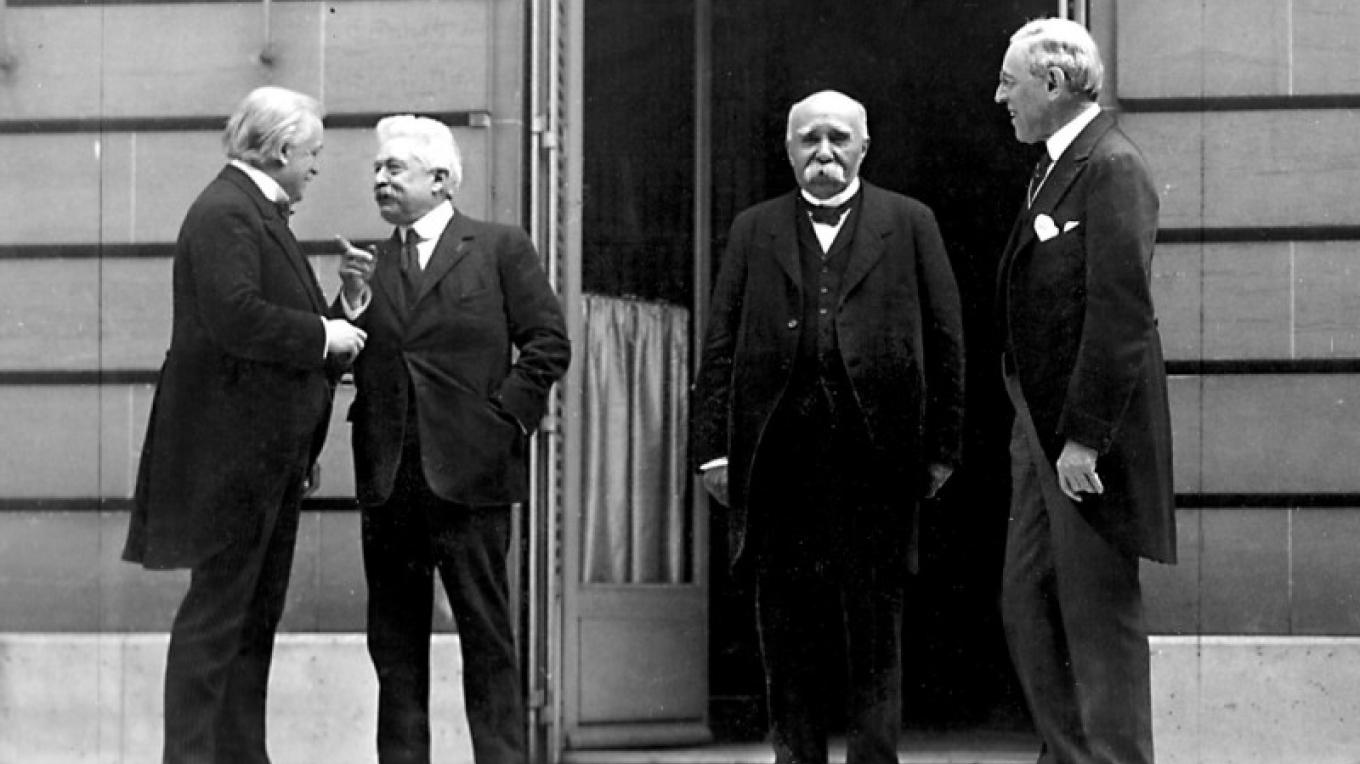 Clemenceau and Wilson – Museum Files