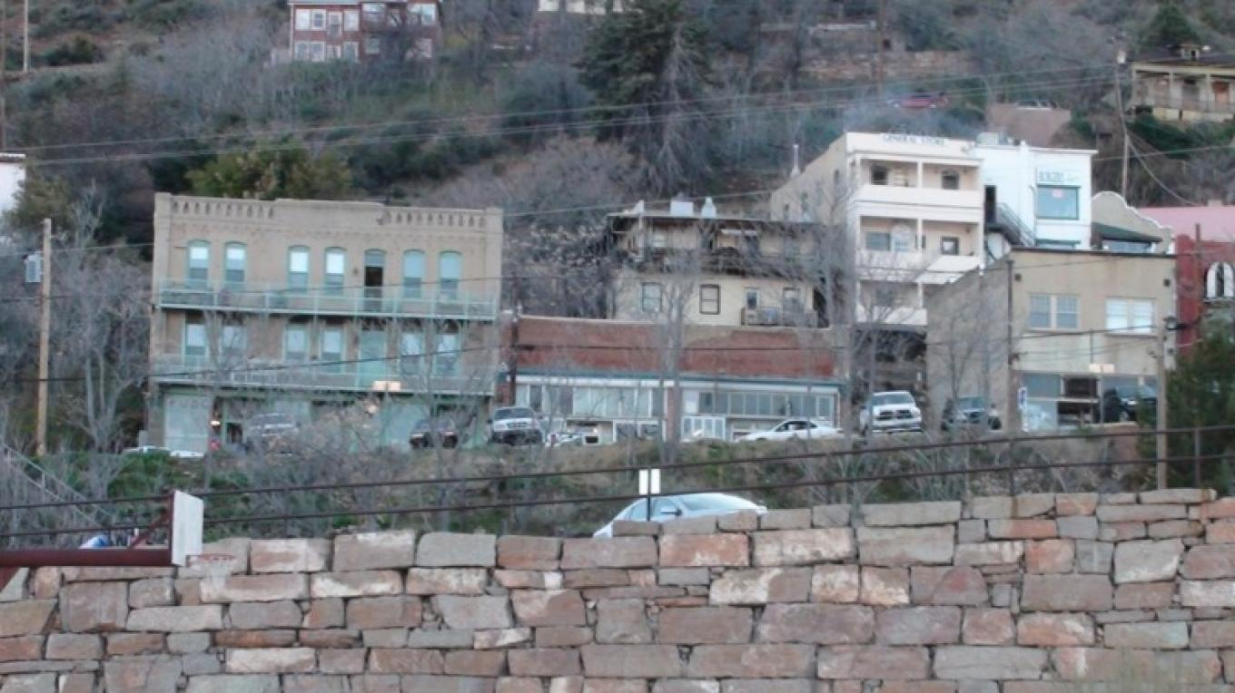 The historic copper mining town of Jerome, a great place to enjoy local wine and art. – Jim Reich
