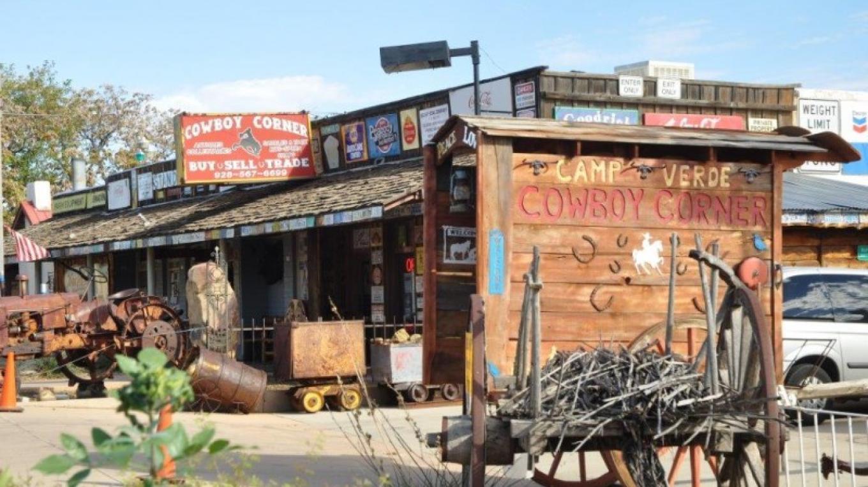 Cowboy Corner western shop. Camp Verde, Arizona – Steve Ayers