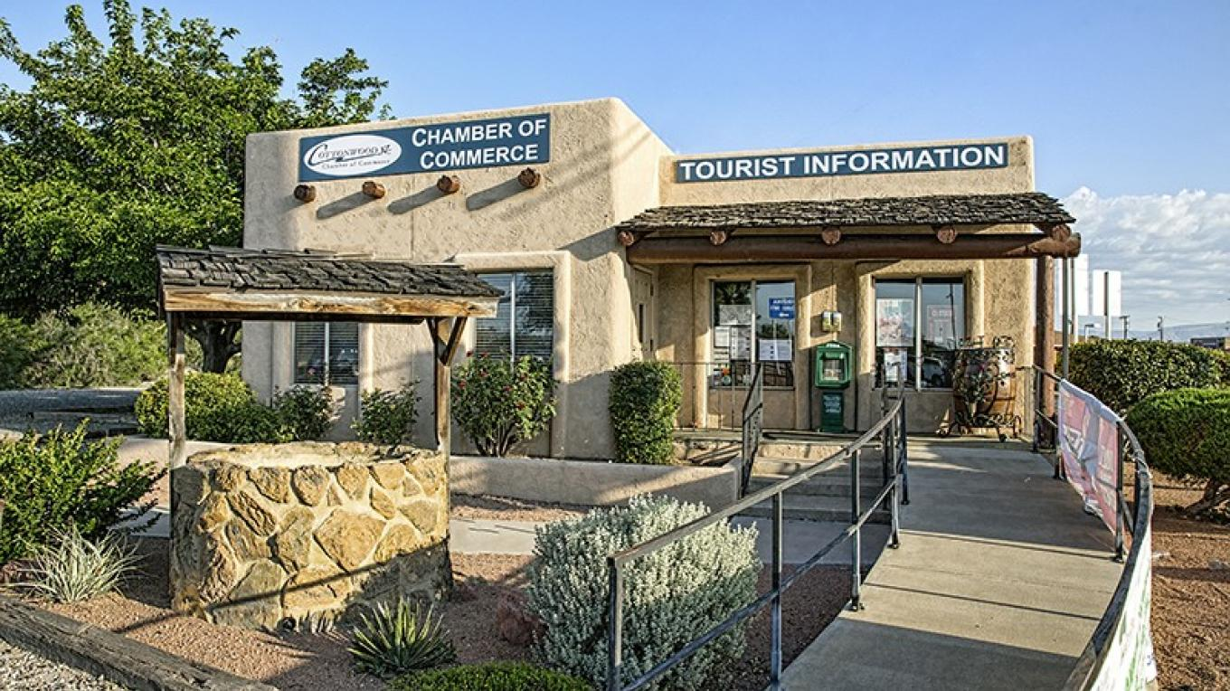 Come see us at 1010 S. Main St. for information about Cottonwood and the Verde Valley – Photographer: Josh Gray