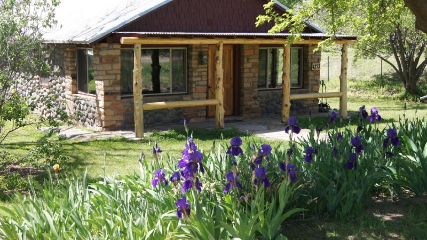 The Ranch House in the spring