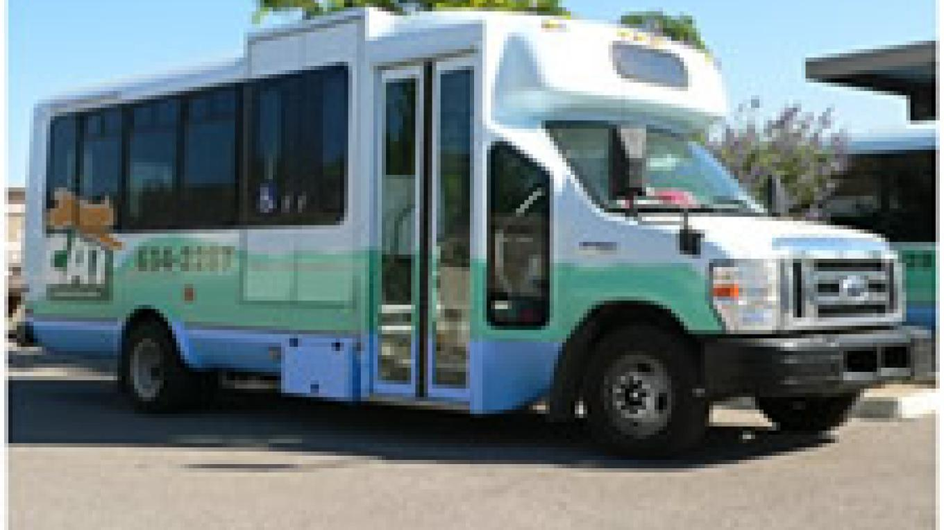Clean, comfy transit from Cottonwood Area Transit System