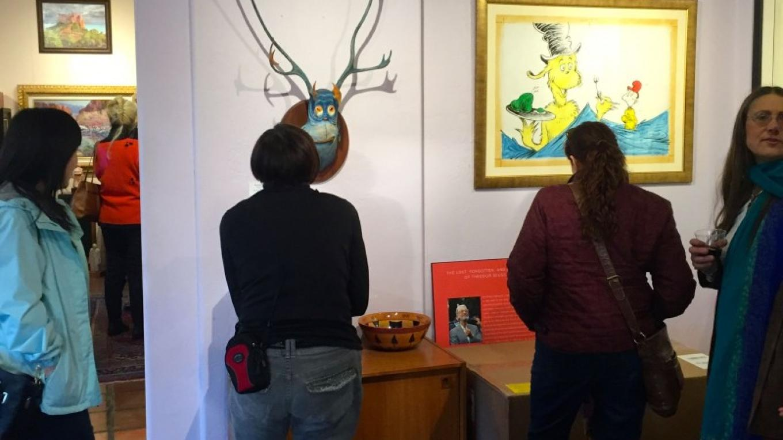 Dr. Seuss room at Alt Gallery