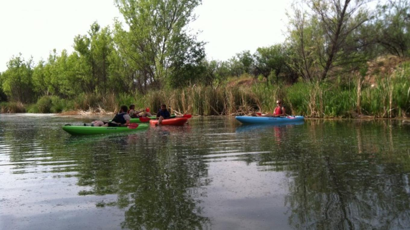 Kayaking in Clarkdale – Laura Jones