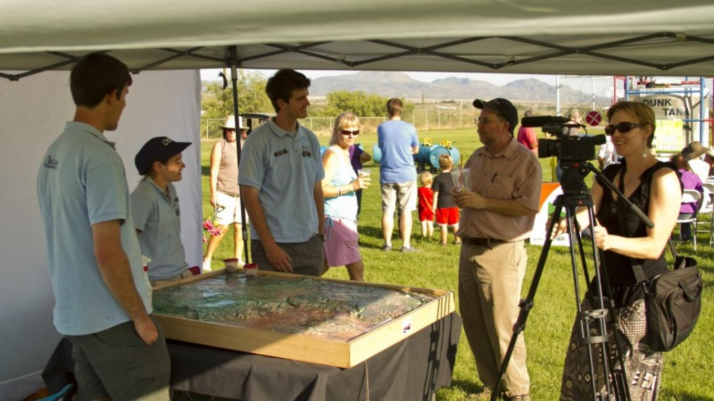 Ambassadors at Corn Festival in Camp Verde, Arizona – Cordel Alder