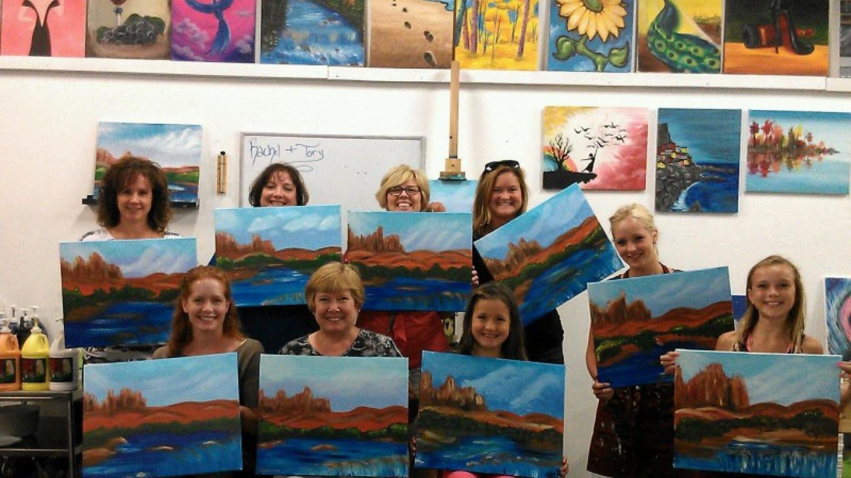 Red Rocks Painting Class – Tony Schmitt