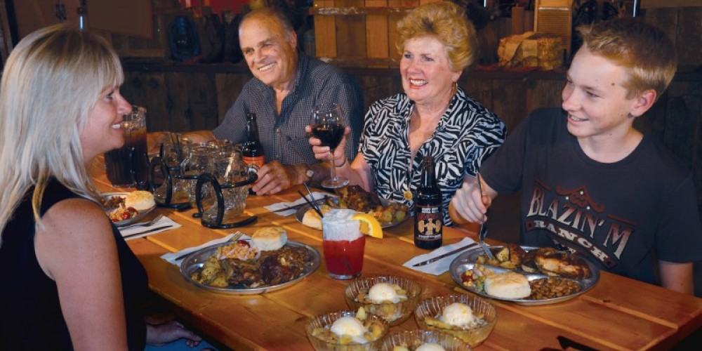The Blazin' M Ranch is the ideal setting for a memorable family meal and a western entertainment experience that is one of a kind in Arizona! – Josh Gray