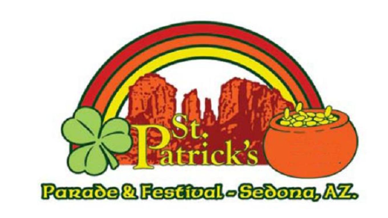 Sedona St. Patrick's Parade & Festival Logo – The Sedona Green Team