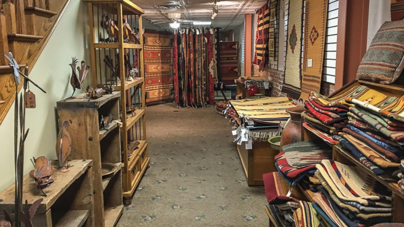 We carry a wide selection of rugs and other home furnishings. – Firefly Gallery