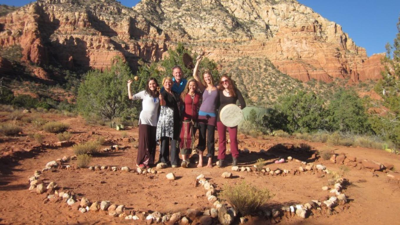 Sedona Land Journey to the Medicine Wheel!