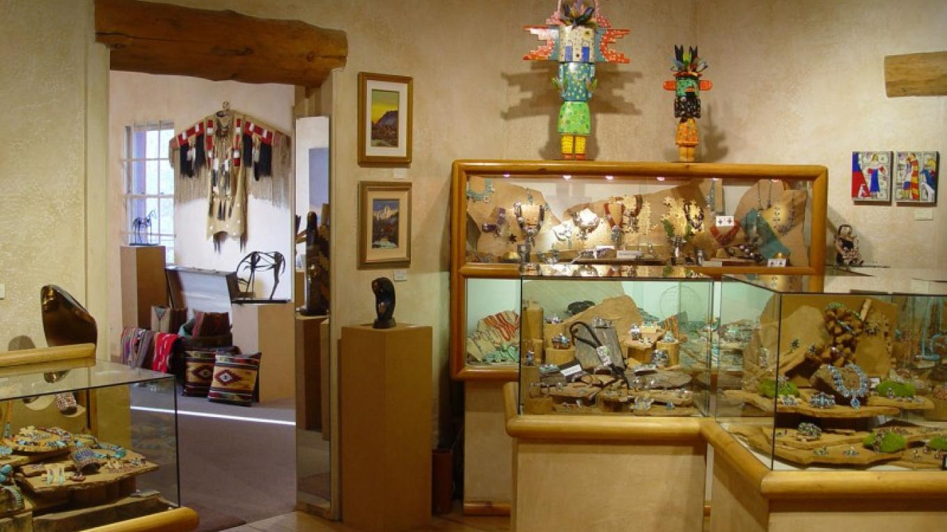 Turquoise Tortoise Gallery offers an extensive collection of Native American and Southwest jewelry. – courtesy Turquoise Tortoise Gallery