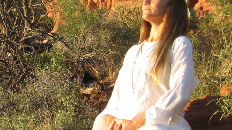 Meditating in the Sacred Sedona Energy