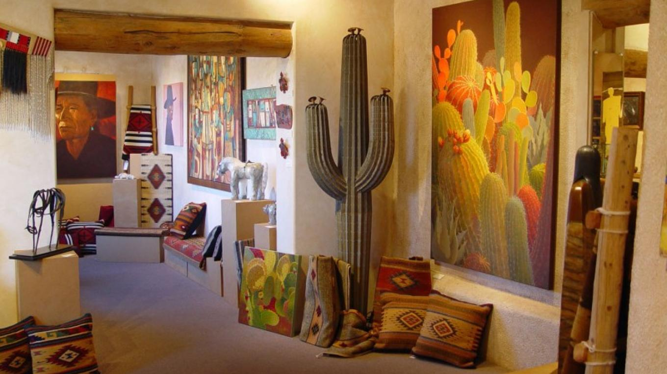 Artists such as Sharon Weiser are represented. – courtesy Turquoise Tortoise Gallery