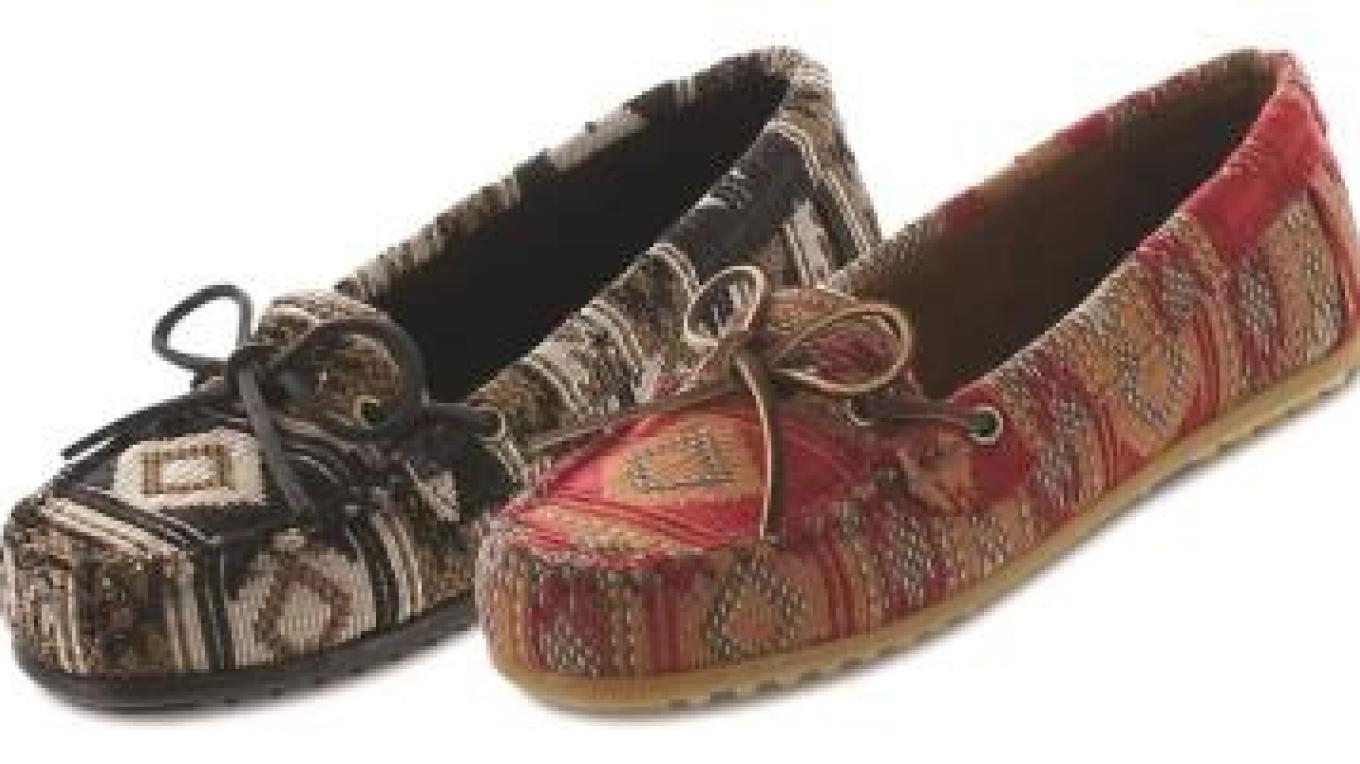 Large selection of men's, women's, children's and infant moccasins. – Pam Freeman