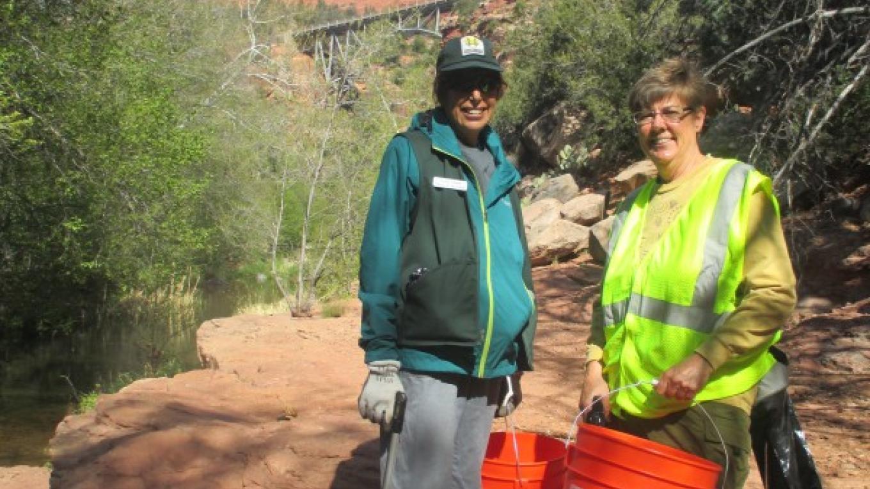 Litter clean up at Midgley Bridge – Marie McCormick
