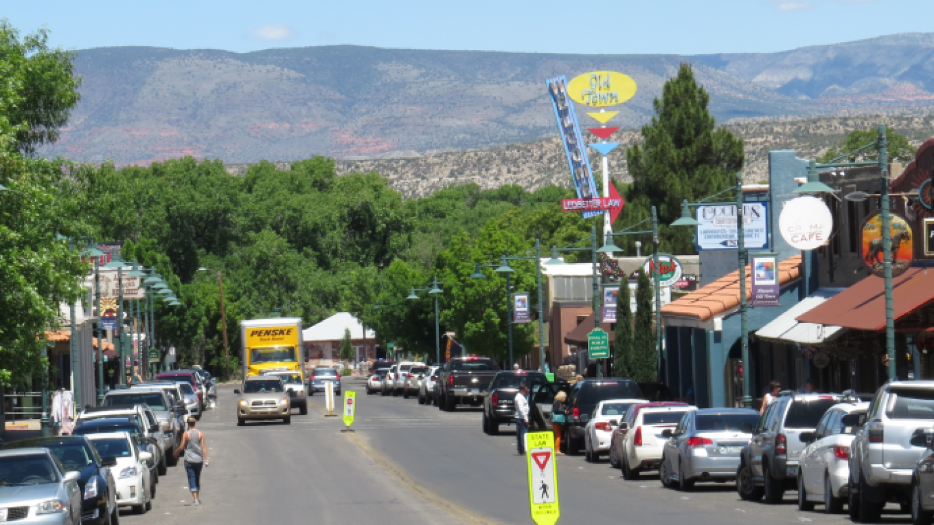Main Street in Old Town Cottonwood – Casey Rooney