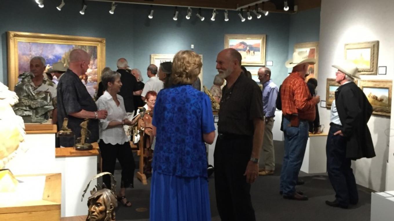 Cowboy Artists of American Reception at Sedona Art Center July 2015 – Mindy Mendelsohn